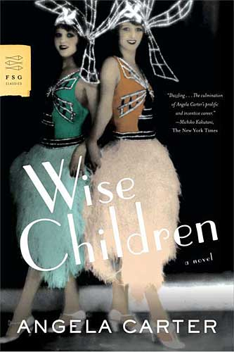 book cover for the US 2007 edition of Wise Children